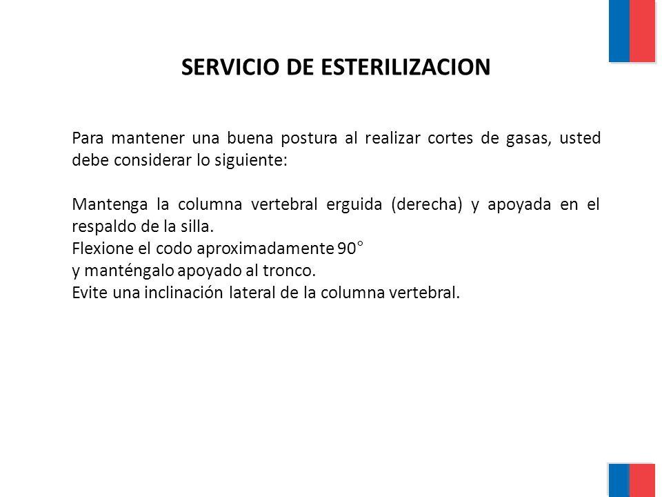 SERVICIO DE ESTERILIZACION