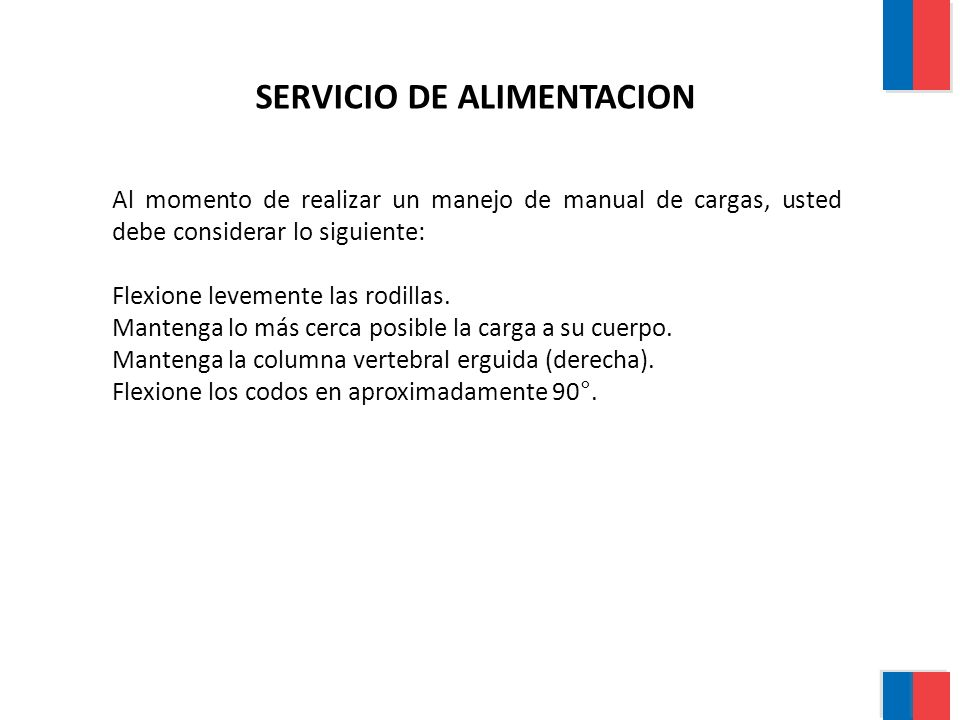 SERVICIO DE ALIMENTACION