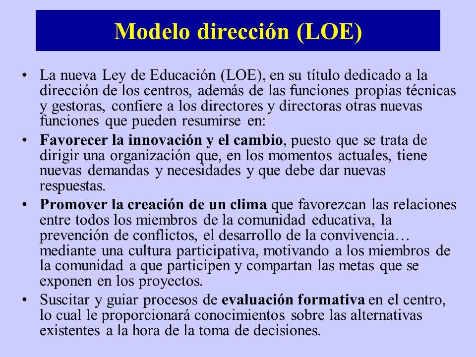 Modelo dirección (LOE)