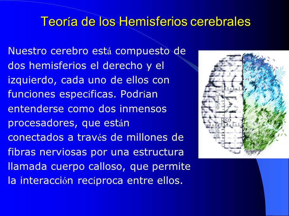 Teoría de los Hemisferios cerebrales