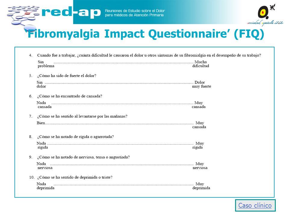 'Fibromyalgia Impact Questionnaire' (FIQ)