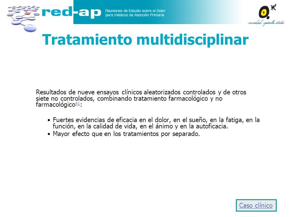 Tratamiento multidisciplinar