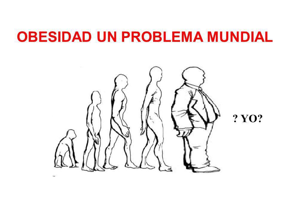OBESIDAD UN PROBLEMA MUNDIAL