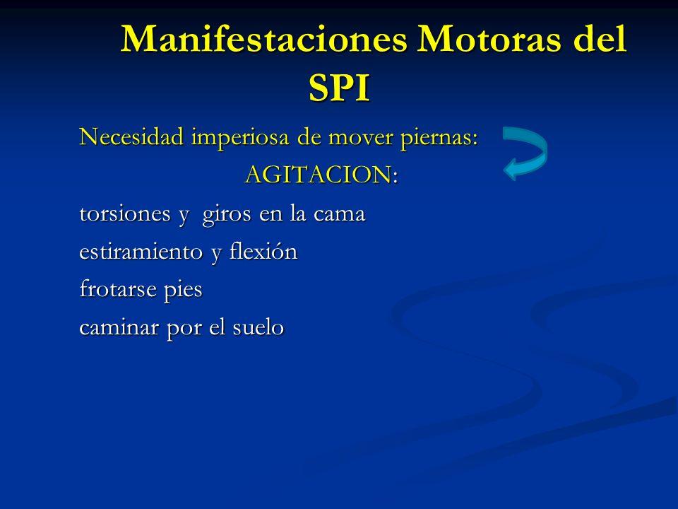 Manifestaciones Motoras del SPI