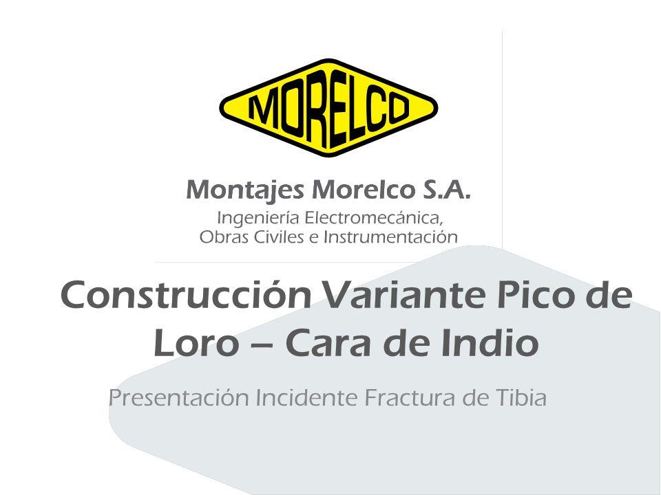 Construcción Variante Pico de Loro – Cara de Indio