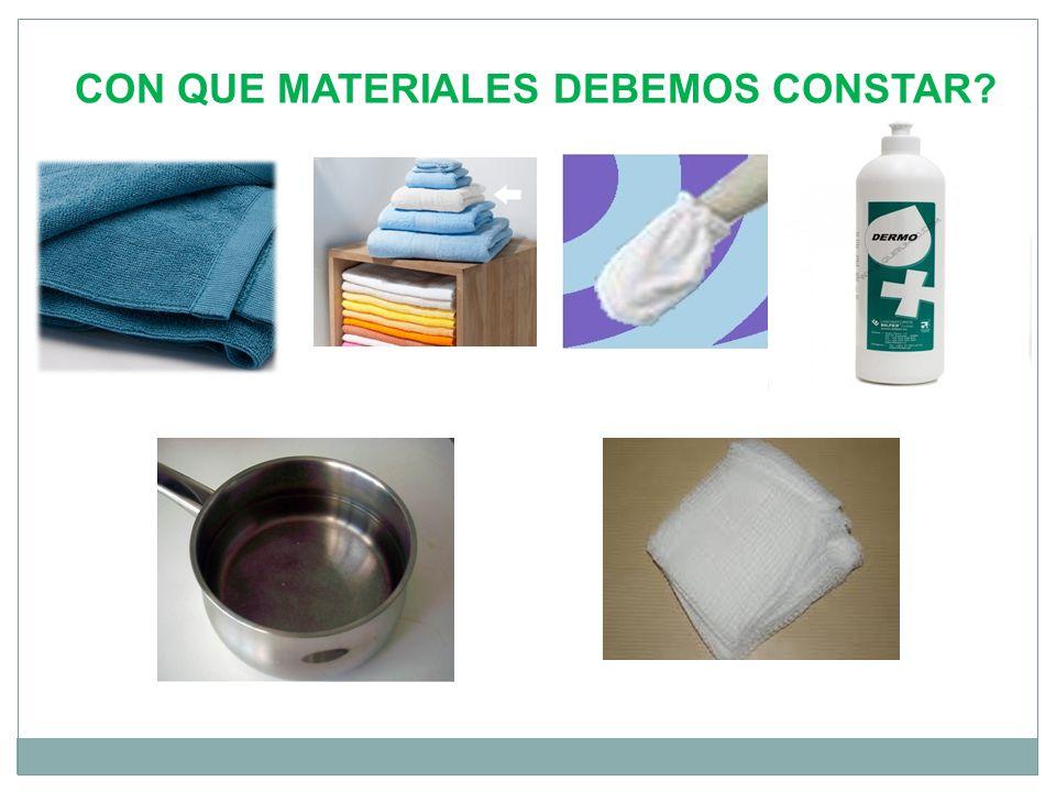 CON QUE MATERIALES DEBEMOS CONSTAR