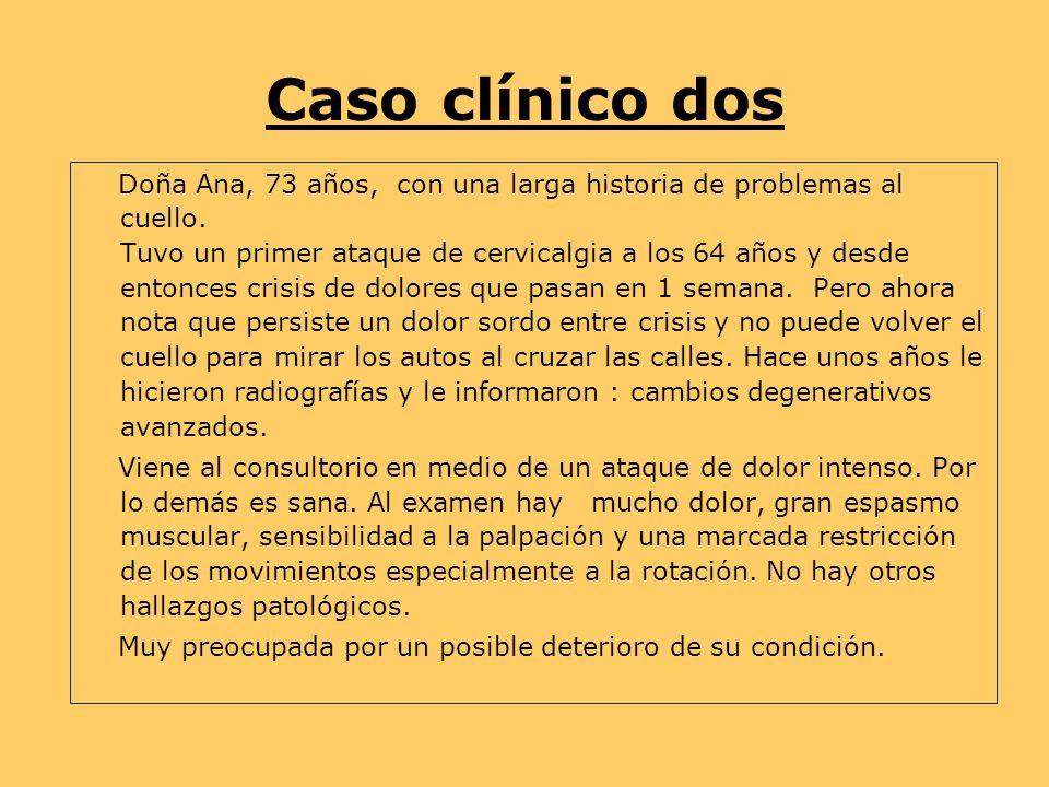 Caso clínico dos