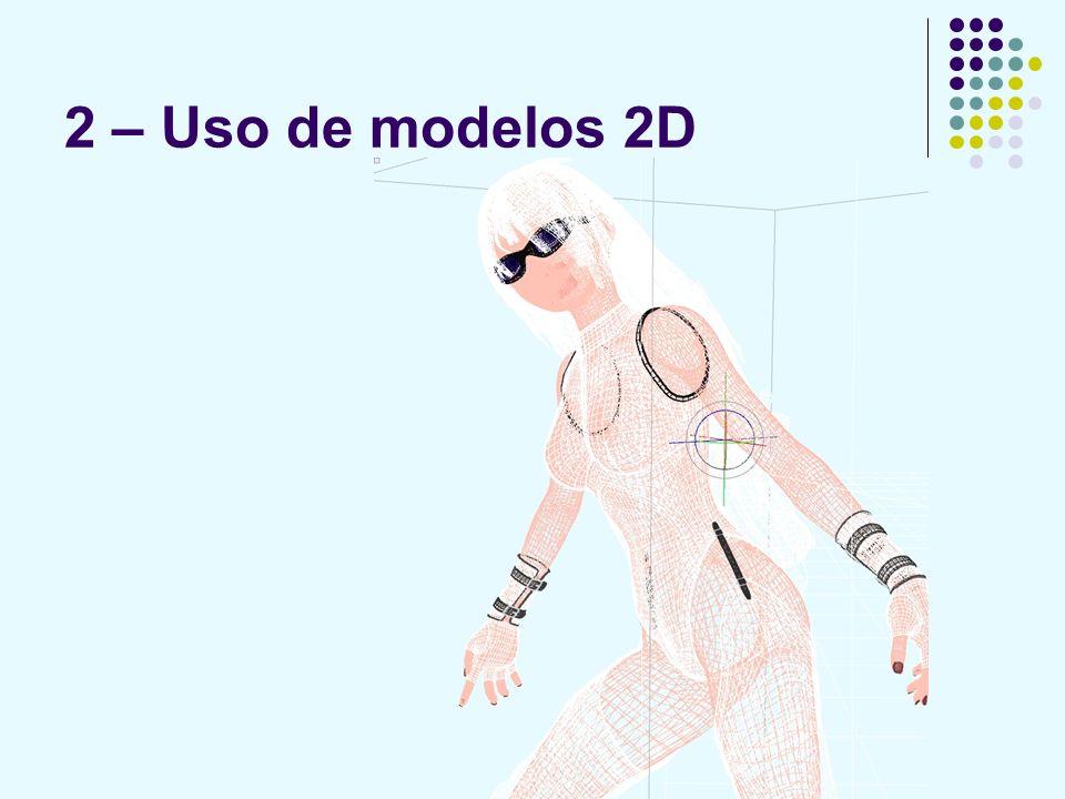 2 – Uso de modelos 2D