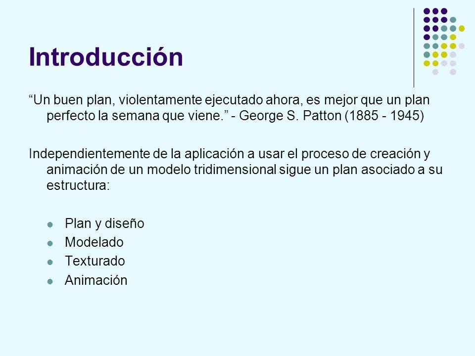 Introducción Un buen plan, violentamente ejecutado ahora, es mejor que un plan perfecto la semana que viene. - George S. Patton (1885 - 1945)