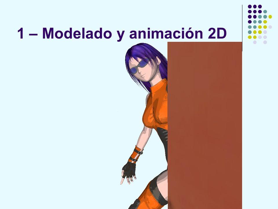 1 – Modelado y animación 2D