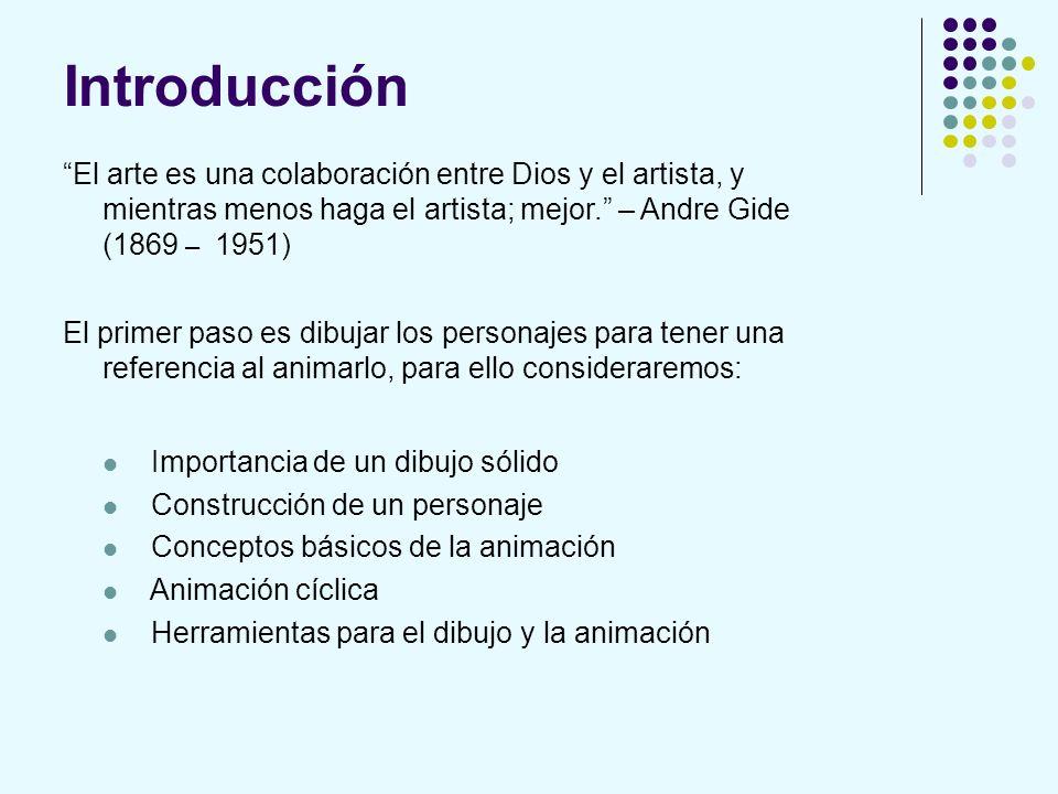 Introducción El arte es una colaboración entre Dios y el artista, y mientras menos haga el artista; mejor. – Andre Gide (1869 – 1951)