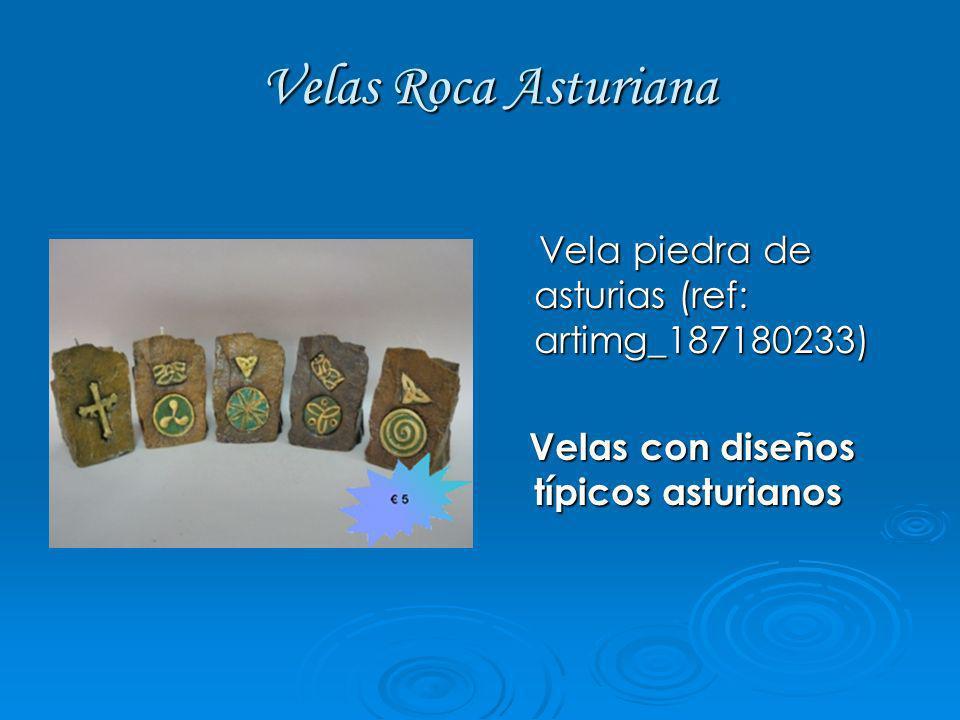 Velas Roca Asturiana Vela piedra de asturias (ref: artimg_187180233)