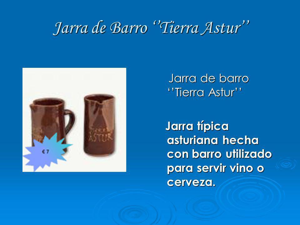 Jarra de Barro ''Tierra Astur''
