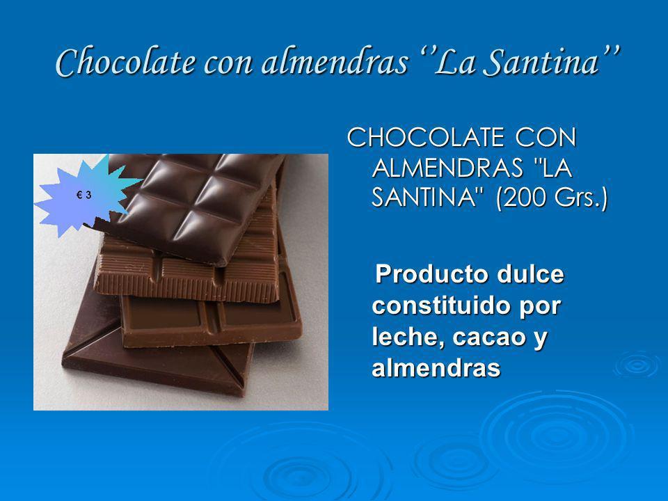 Chocolate con almendras ''La Santina''