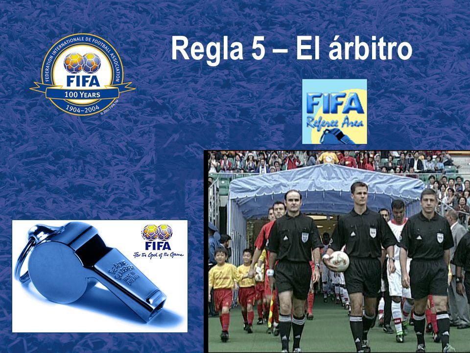 Regla 5 – El árbitro