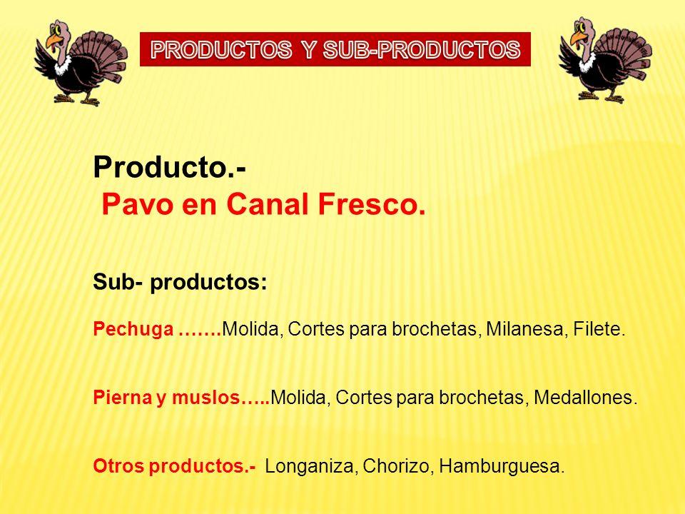 PRODUCTOS Y SUB-PRODUCTOS