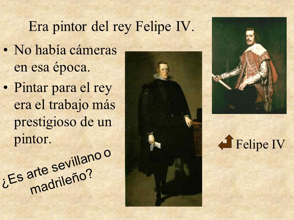 Era pintor del rey Felipe IV.