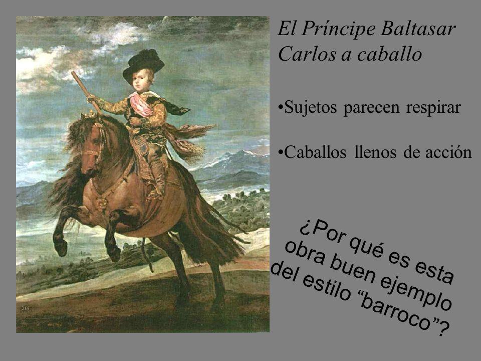 ¿Por qué es esta obra buen ejemplo del estilo barroco
