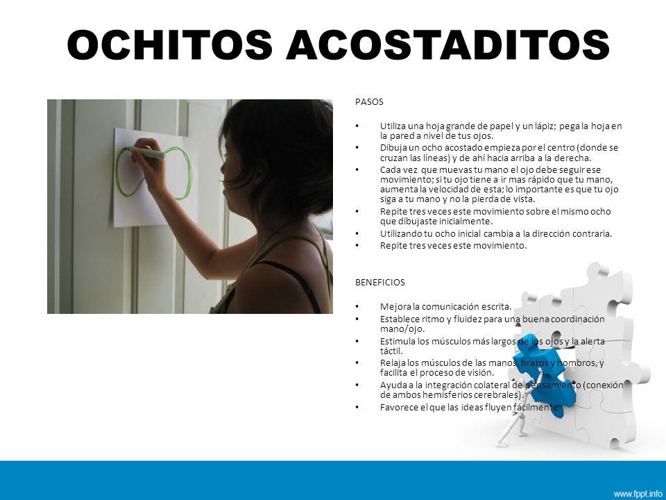 OCHITOS ACOSTADITOS PASOS