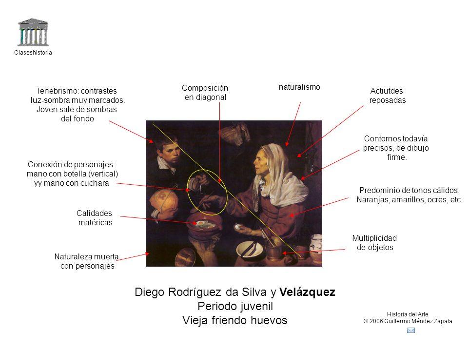 Diego Rodríguez da Silva y Velázquez Periodo juvenil