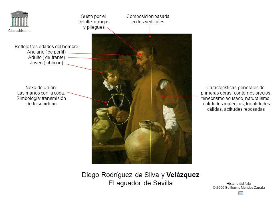 Diego Rodríguez da Silva y Velázquez El aguador de Sevilla