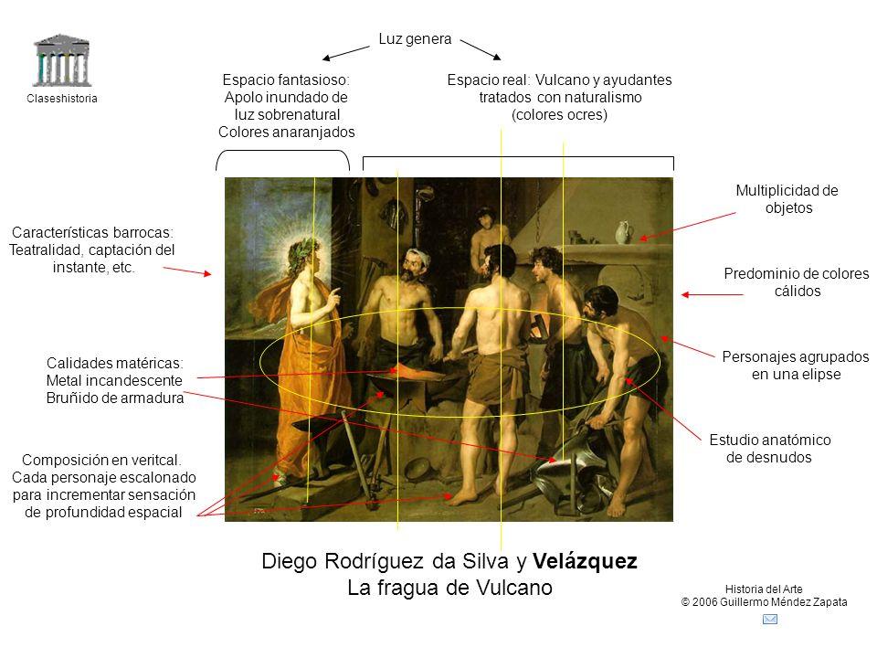 Diego Rodríguez da Silva y Velázquez La fragua de Vulcano