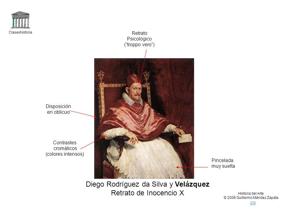 Diego Rodríguez da Silva y Velázquez Retrato de Inocencio X