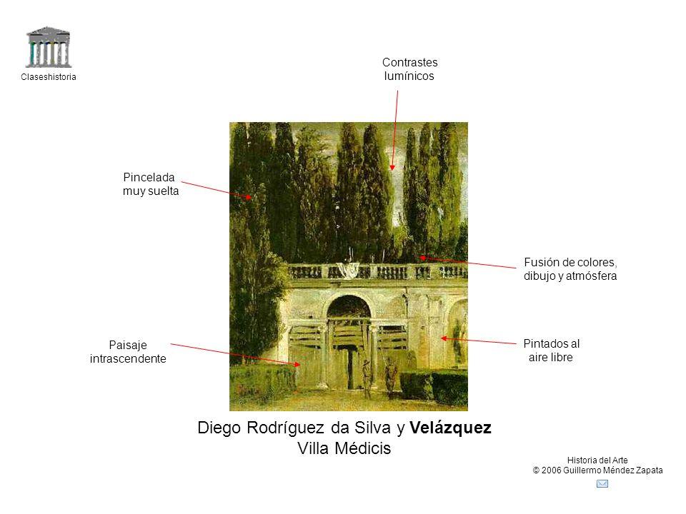 Diego Rodríguez da Silva y Velázquez Villa Médicis