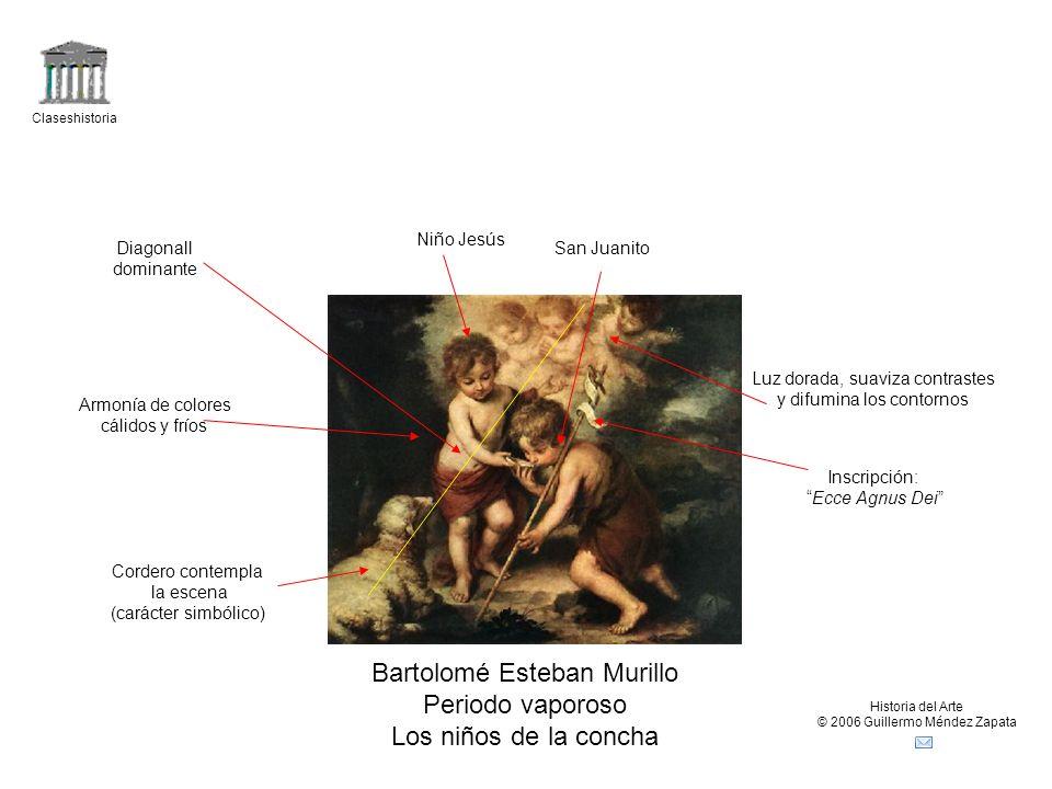 Bartolomé Esteban Murillo Periodo vaporoso Los niños de la concha