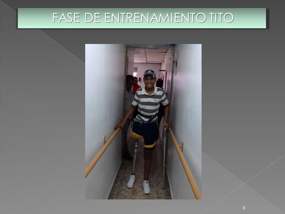 FASE DE ENTRENAMIENTO TITO