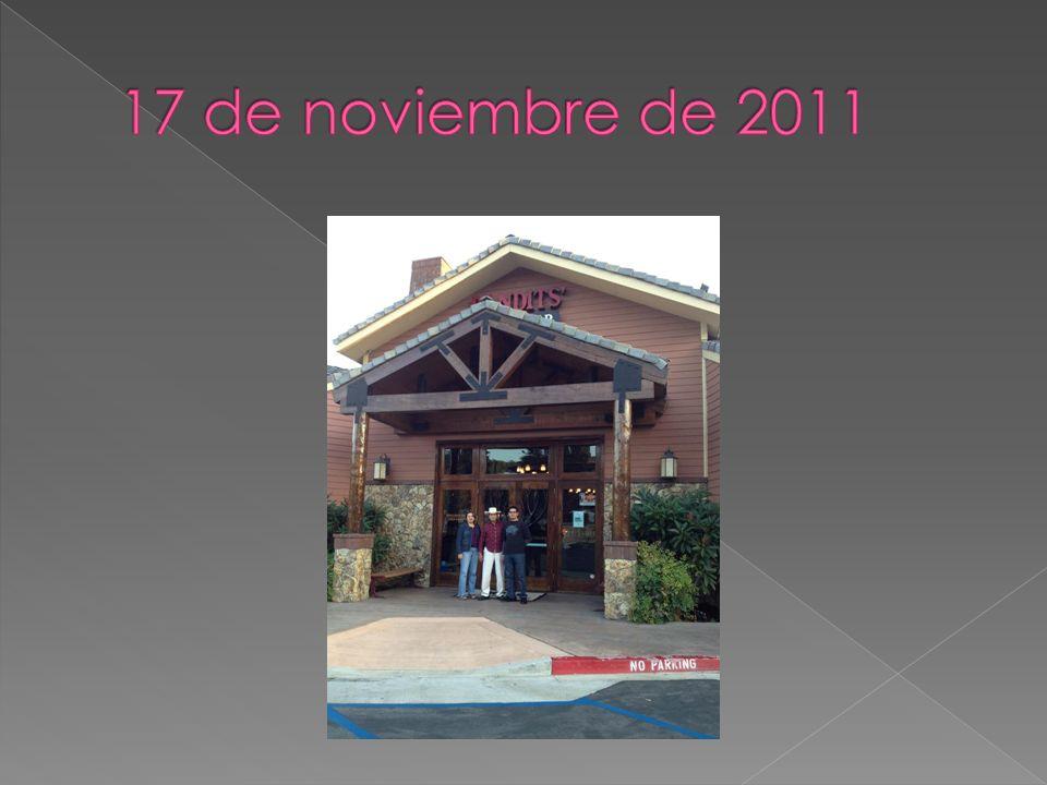 17 de noviembre de 2011