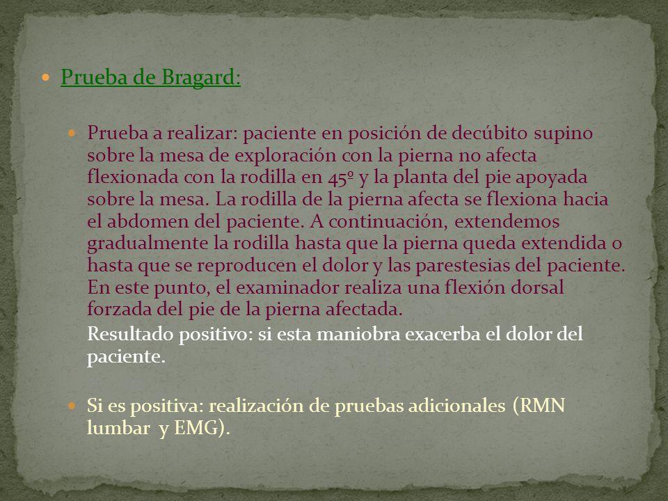 Prueba de Bragard: