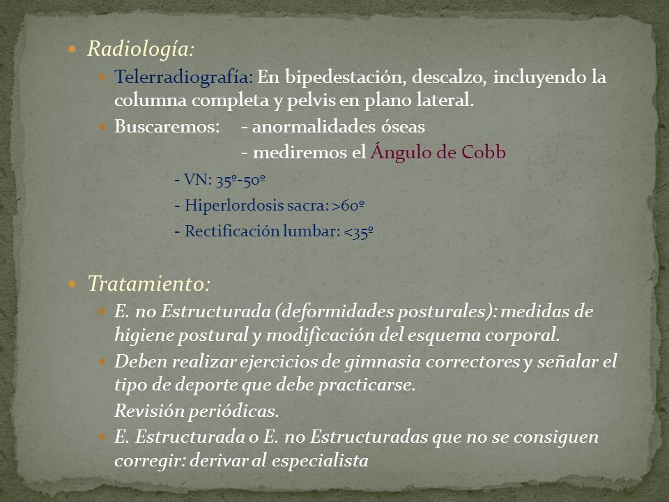 Radiología: Tratamiento: