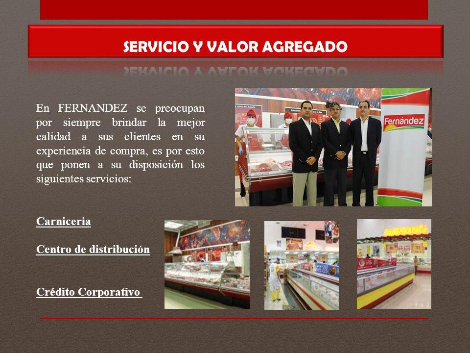 SERVICIO Y VALOR AGREGADO