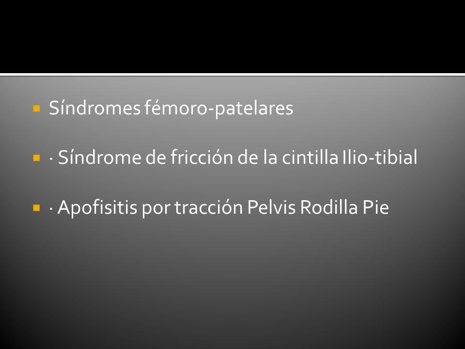 Síndromes fémoro-patelares