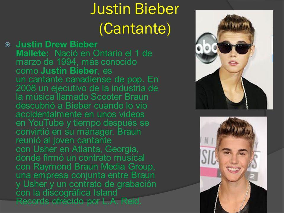 Justin Bieber (Cantante)