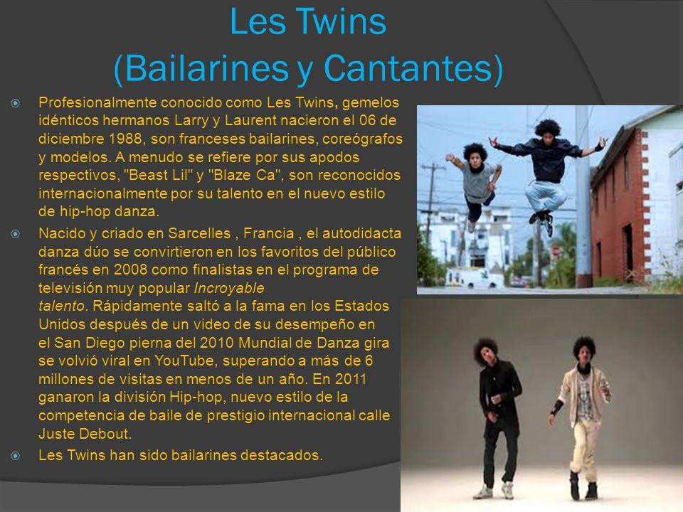 Les Twins (Bailarines y Cantantes)