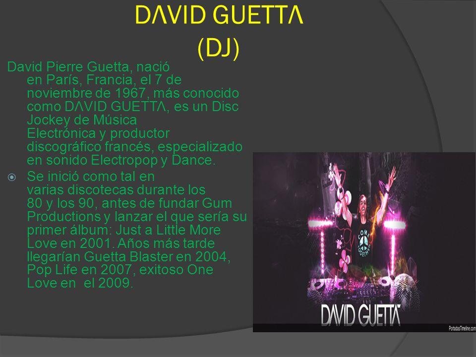 DΛVΙD GUΕΤΤΛ (DJ)