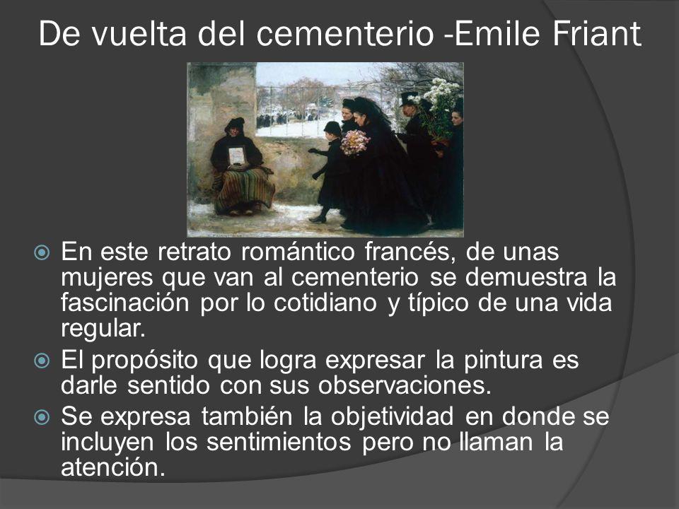 De vuelta del cementerio -Emile Friant