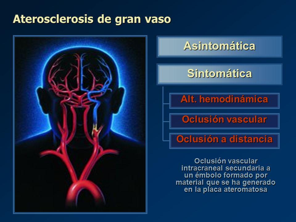Asintomática Sintomática