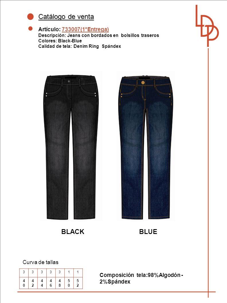 Catálogo de venta BLACK BLUE Artículo: 733007(1°Entrega)