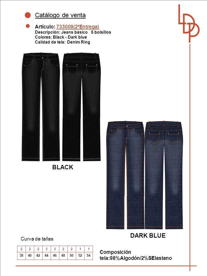Catálogo de venta BLACK DARK BLUE Artículo: 733009(2ªEntrega)