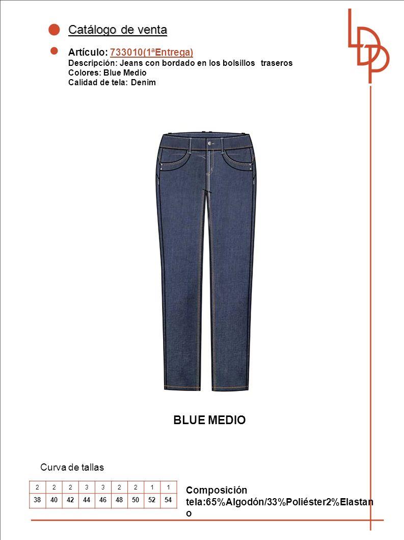 Catálogo de venta BLUE MEDIO Artículo: 733010(1ªEntrega)