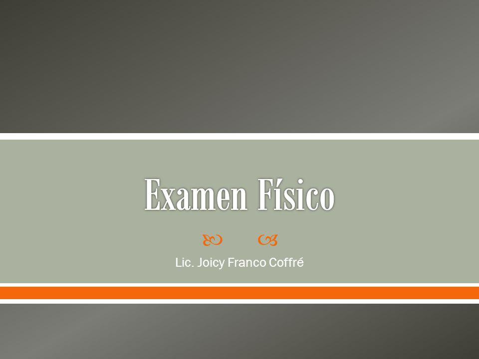 Lic. Joicy Franco Coffré