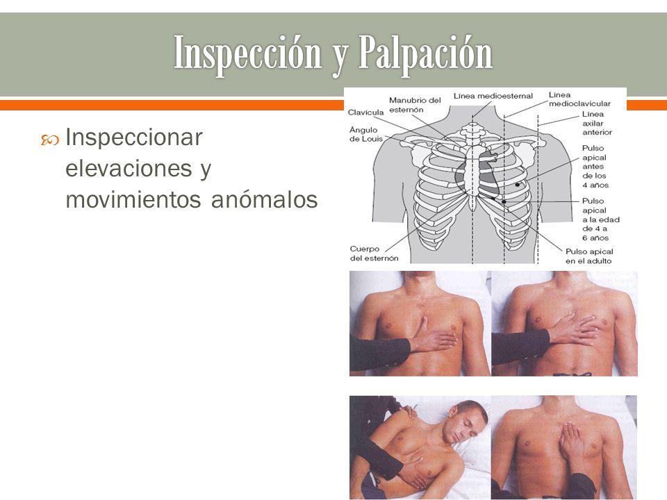 Inspección y Palpación