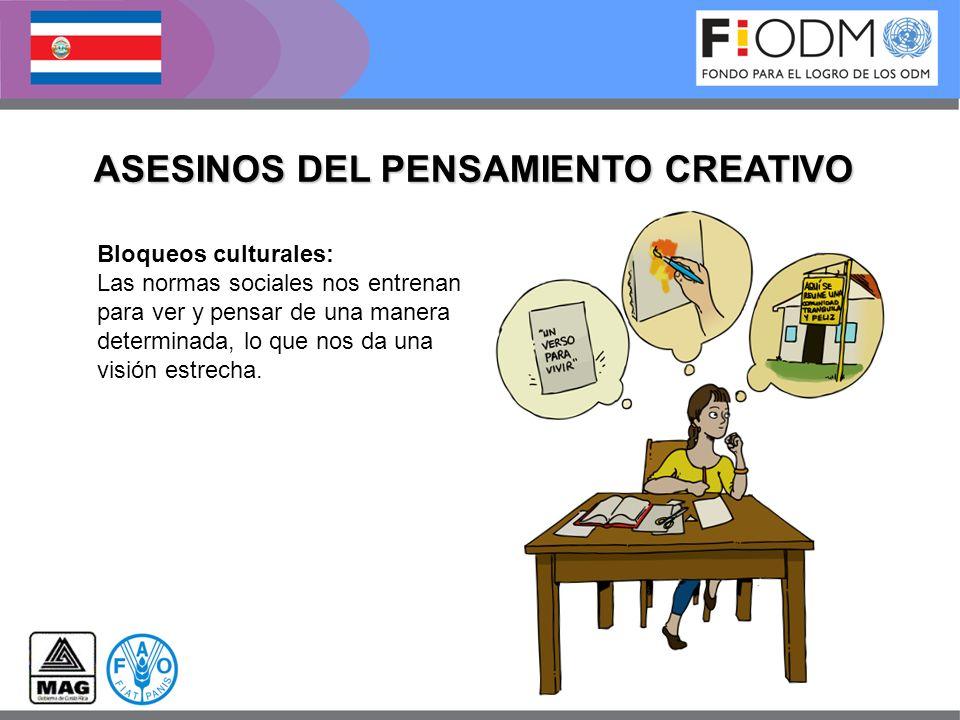 ASESINOS DEL PENSAMIENTO CREATIVO