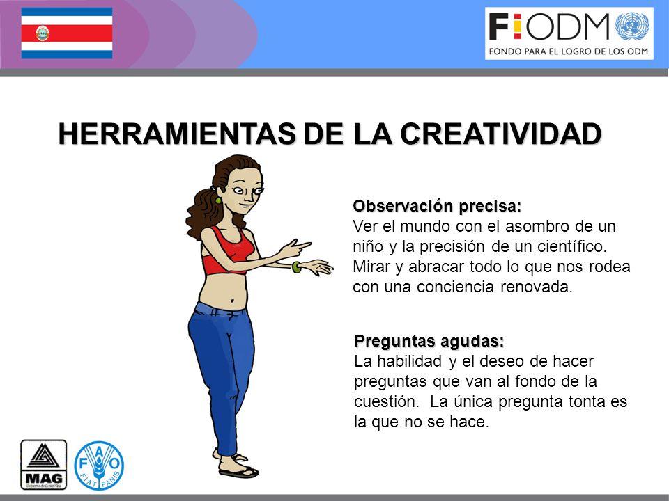 HERRAMIENTAS DE LA CREATIVIDAD