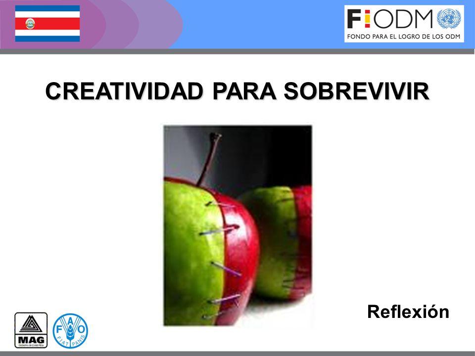 CREATIVIDAD PARA SOBREVIVIR