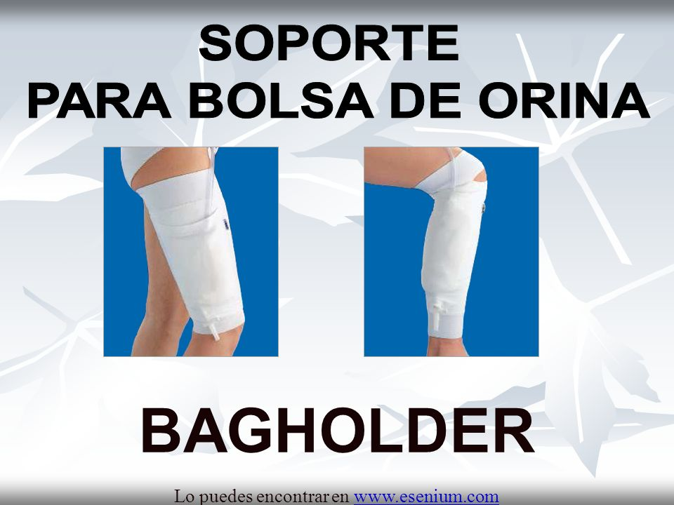 BAGHOLDER SOPORTE PARA BOLSA DE ORINA