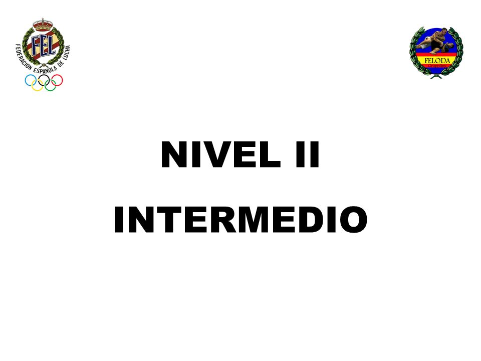 NIVEL II INTERMEDIO